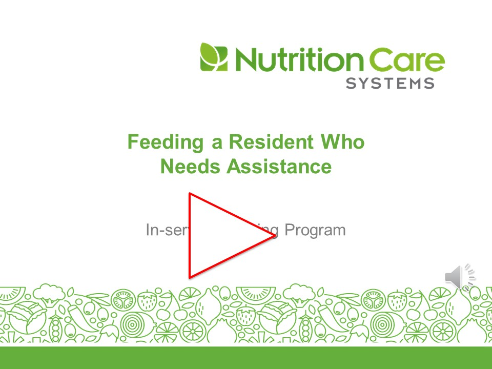 Feeding A Resident Who Needs Assistance Revised