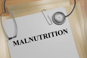 Malnutrition Medical Concept