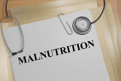 Malnutrition Medical Concept