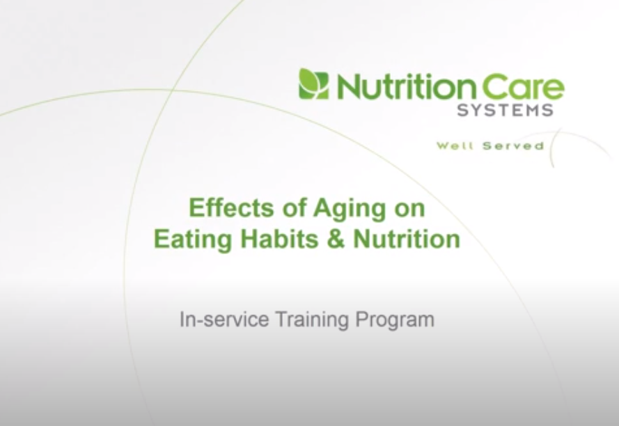 Effects Of Aging On Eating Habits And Nutrition Video Image