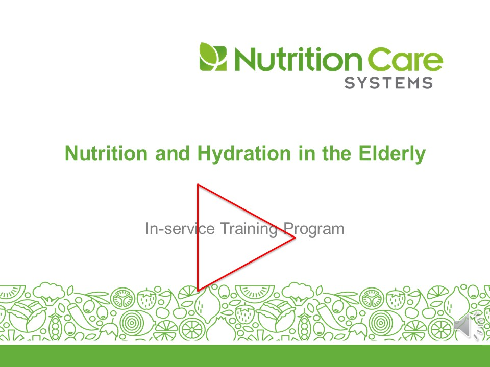 Nutrition And Hydration In The Elderly Revised
